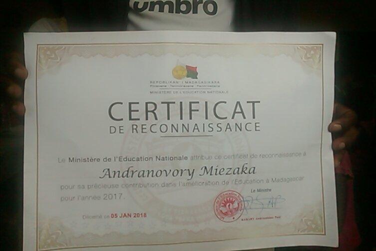 CertificatReconnaissanceMEN